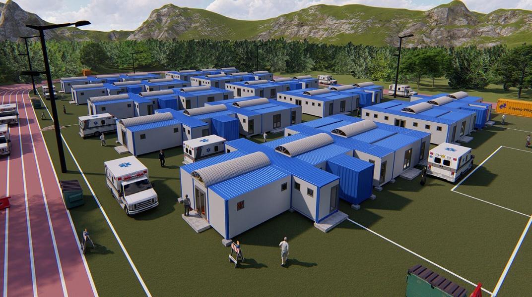 mobile hospitals
