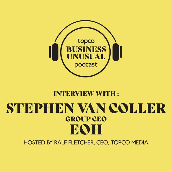 Topco business unusual podcast interview with GROUP CEP EOH